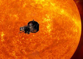 NASA's historic Parker Solar Probe closing towards Sun.