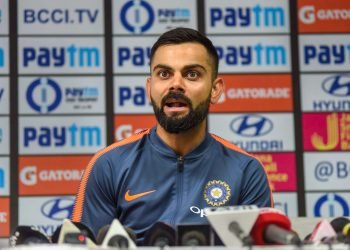 Virat Kohli addresses a pre-match press conference ahead of their first ODI against West Indies