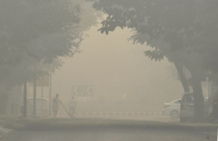 , Delhi records worst pollution of season