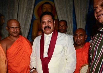Sri Lankan Prime Minister Mahindra Rajapakse