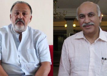 Alok Nath and MJ Akbar ---Agencies