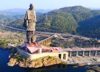 PM unveils 600 ft statue of Sardar Vallabhbhai Patel.