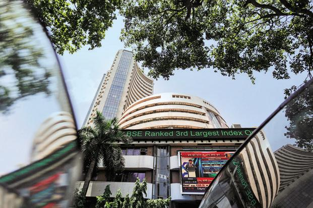 Sensex down 143 points, Nifty below the 10,200 points. Live