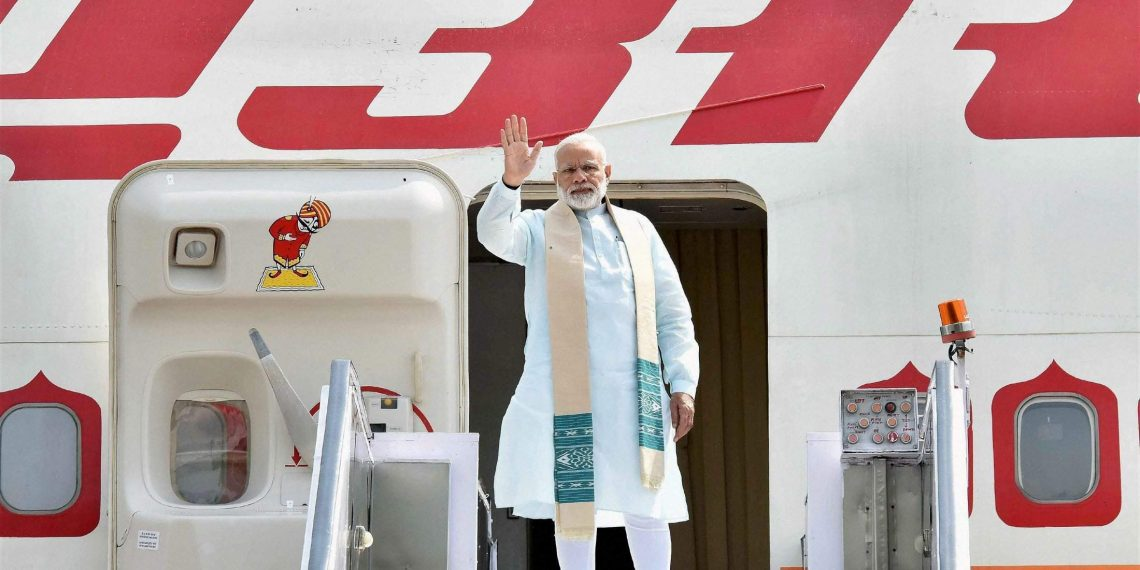 """""""Visiting a valued friend & a partner in our progress!"""" PM on Japan visit 28th and 29th Oct. 2018."""