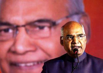 President. Ram Nath Kovind.