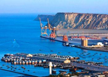 Gwadar port, Pakistan.