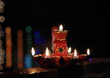 festive celebrations with lights