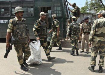 Military operations in Srinagar, militants dead.