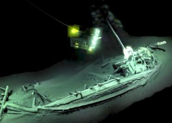 The lack of oxygen in the Black Sea had helped to preserve the wreck, an archaelogist explained.