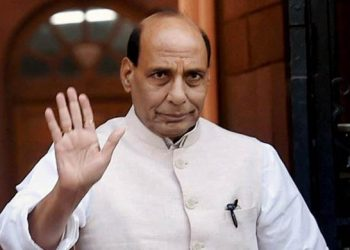 Home Minister Rajnath Singh on four day visit to Jammu & Kashmir