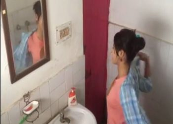 2 including a minor held for making a woman's bathing scene viral