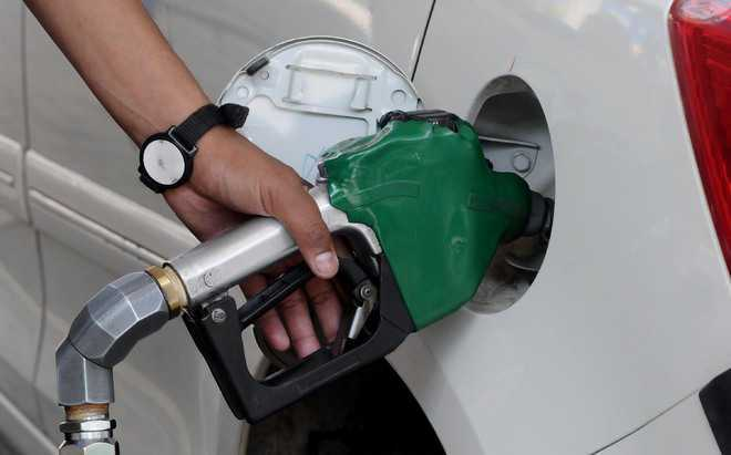 Image result for Petrol price down by 20 paise across metros