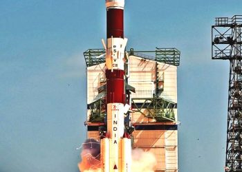 India's PSLV rocket lifts off. File Pic (ISRO)