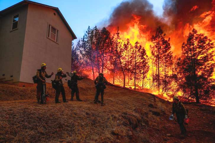 Trump to visit California fire scene as death toll rises