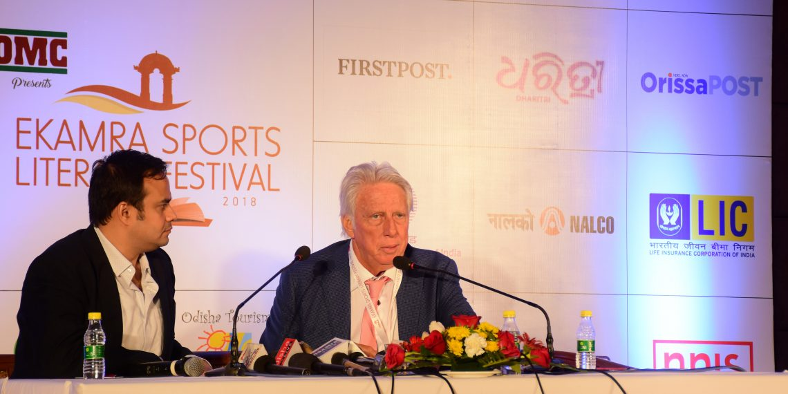 Jeff Thomson at the Lit Fest