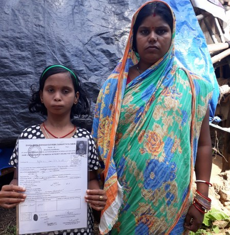 , Certified 100 % disabled, but pension eludes12-yr-old Twinkle