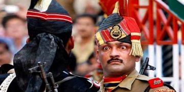 India Pakistan Wagah border parade