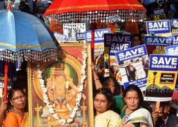 Sabarimala: BJP stirs religious cauldron while Congress stokes the fire