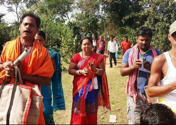 Tree felling over beer unit Locals plant saplings as protest continues