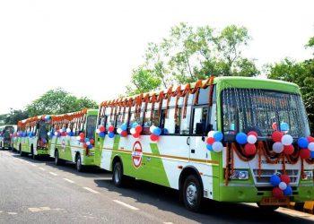 A 'Mo bus' fleet.