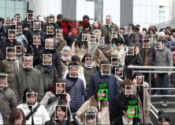 Representative image of Facial recognition system.