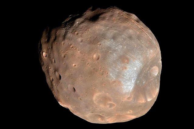 Mars moon, Phobos