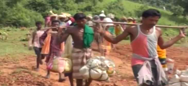 5 kg of PDS rice 10 kms away for beneficiaries