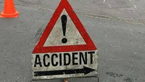 Road mishap representational image