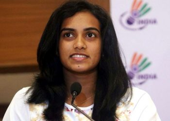 PV Sindhu who spoke to the media at the inauguration of the badminton and squash facility in Ranchi said it was her dream to play in the Olympics. (IANS)
