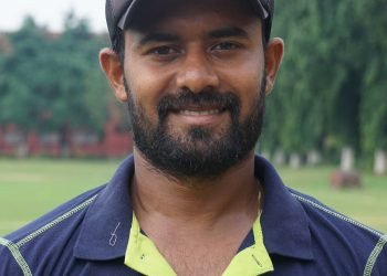 Abhishek Rout was the lone bright player for Odisha against Services at Palam, Sunday