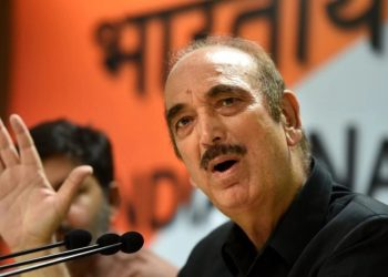 Leader of Opposition in Rajya Sabha Ghulam Nabi Azad (PTI)