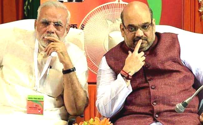 Narendra Modi and Amit Shah (REP. Image)