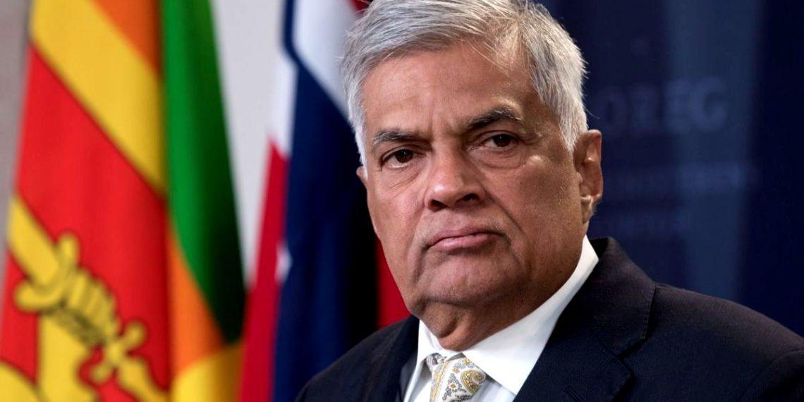 Sri Lankan PM Ranil Wickremesinghe