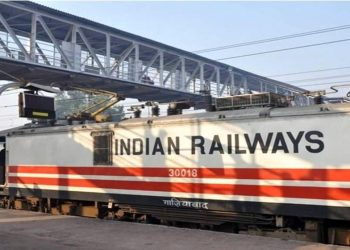 Indian Railway express 30018, Ghaziabad.