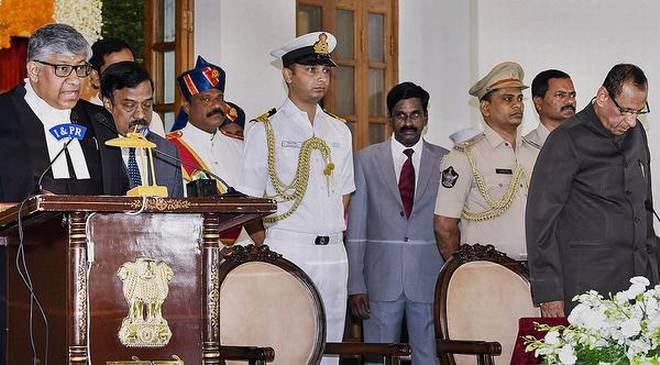 First Chief Justice of Telangana High Court sworn in - OrissaPOST