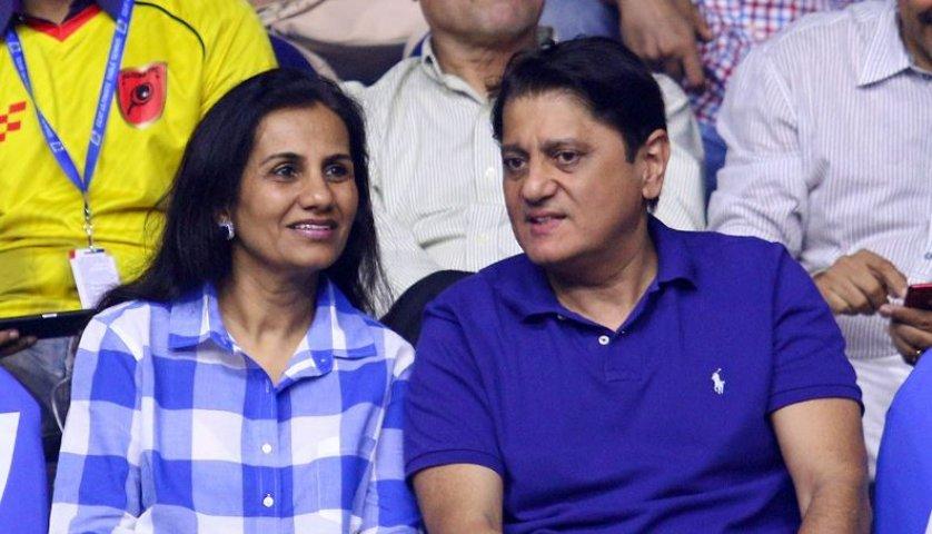 ICICI Bank's former CEO Chanda Kochhar and her husband Deepak Kochhar
