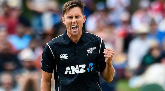Trent Boult picked up five wickets