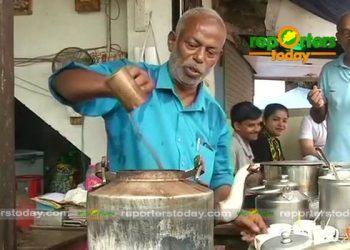 Tea seller Devarapalli Prakash Rao