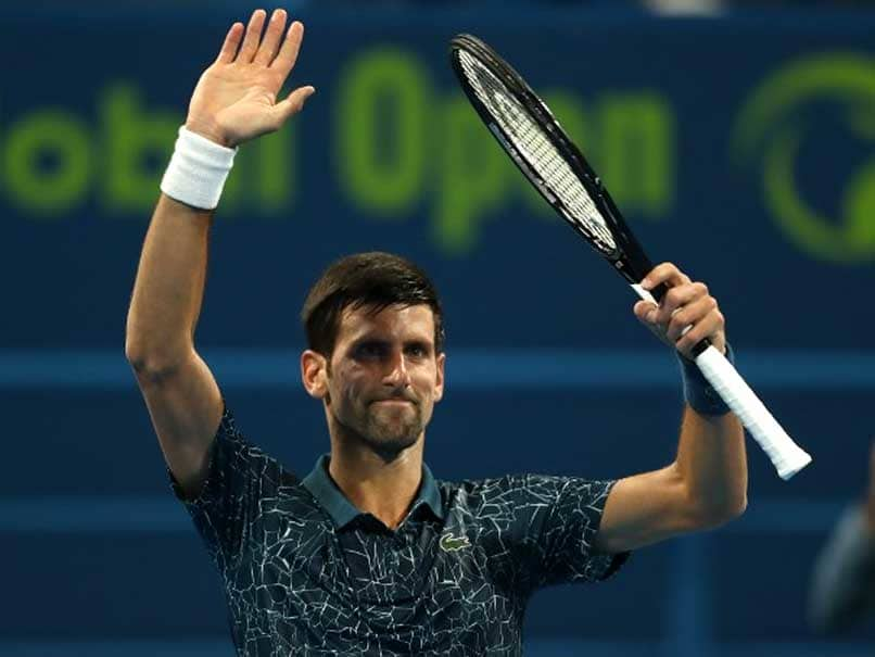 Mubadala WTC: Novak Djokovic edges Kevin Anderson for historic title