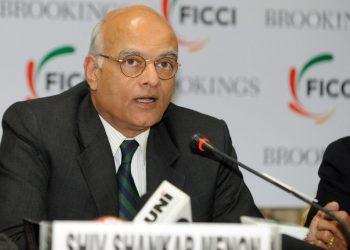 Former National Security Advisor (NSA) Shivshankar Menon (UNI)