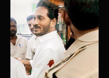 YSR Congress Party President Y.S. Jaganmohan Reddy