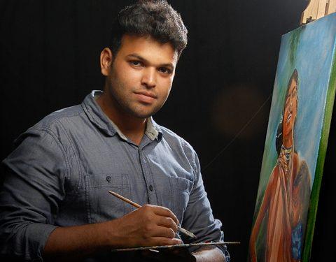Manas-ranjan- panda- painter