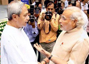File photo of meeting between PM Narendra Modi and Odisha Chief Minister Naveen Patnaik