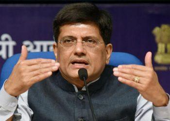Railway and Commerce Minister Piyush Goyal