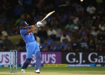 Rohit Sharma pulls en route to his match-winning knock for India