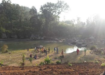 The place where Chanda Majhi's body was found at Lovers' Point