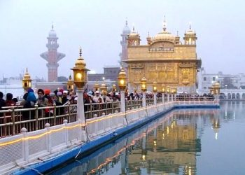 The Golden Temple, also known as Darbar Sahib, Amritsar, Punjab, India. (TWITTER)