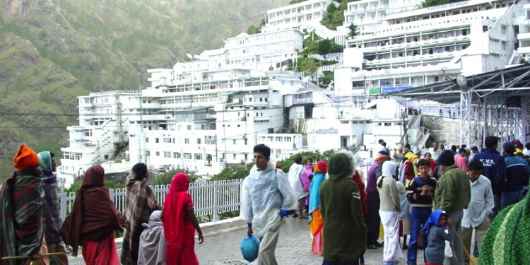 Vaishno Devi, also known as Mata Rani, Trikuta and Vaishnavi, is a manifestation of the Hindu Goddess Mata Adi Shakti, also known as Chandi/Durga. (WIKI)