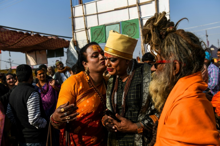 The Kumbh Mela is expected to attract more than 100 million Hindus over the coming seven weeks (AFP)