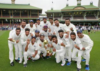 first ever Asian team cricket